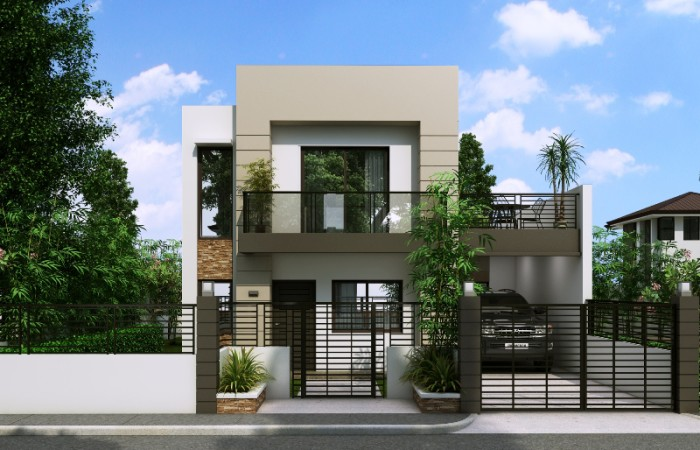Top 10 house designs or ideas for ofws by pinoy eplans for 10 meter frontage home designs