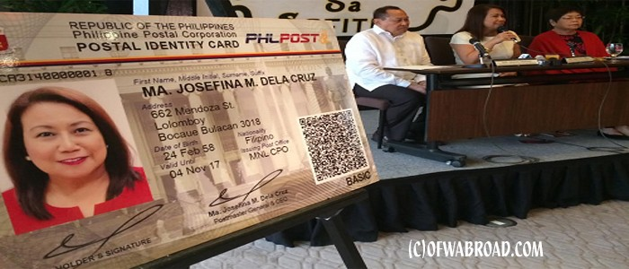 how to obtain new postal id  kwentong ofw