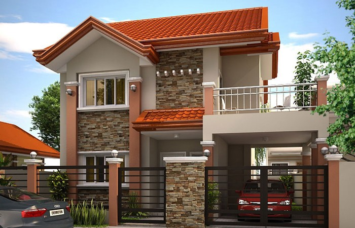 Charmant MHD 2012004 Modern House Design Perspective1 700x450
