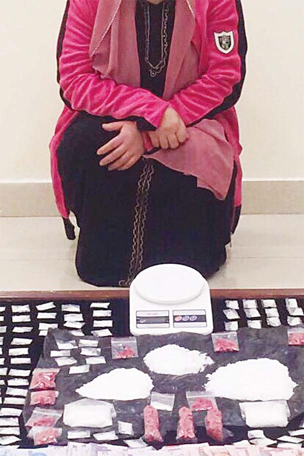 filipina-in-kuwait-selling-drugs