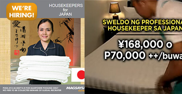Hiring A Housekeeper how to apply: p70,000 monthly salaries for housekeeper job in