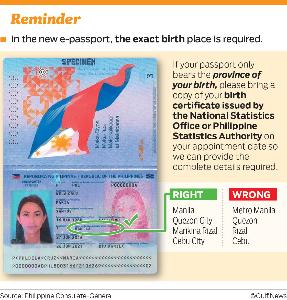 Passport renewal are now required to bring a copy of their birth if the application does not have a scanned copy of the birth certificate the printing gets suspended in manila so we do not accept or process applicants aiddatafo Gallery